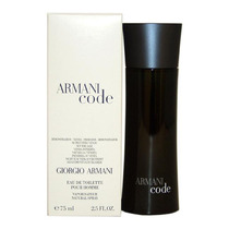 Perfume Armani Code Giorgio Armani 75ml Original Tester