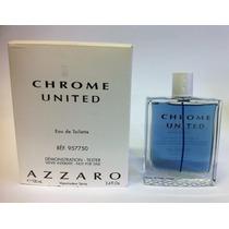 Azzaro Chrome United 100ml Masculino   Tester 100% Original