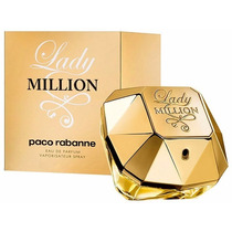Perfume Lady Million Eau De Parfum Feminino 80ml Eua Import.