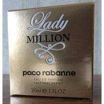 Perfume Lady Million Edp 30ml - Paco Rabanne Original