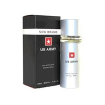 Perfume New Brand Us Army Edt Masculino 100ml (swiss Army)