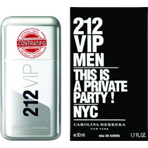 Kit 3 Perfume Masculino 212 Vip Men 55ml Contratipo Forte