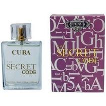 Perfume Masc Cuba The Secret Code ( Code ) Edp 100ml -leilão