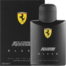 Perfume Ferrari Balck Masculino 125ml Original Made In Italy