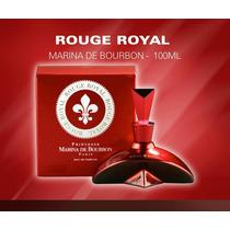 Perfume Rouge Royal 100ml Marina De Bourbon 100% Original