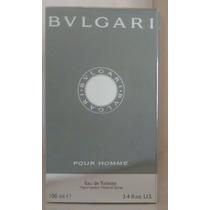 Bvlgari Pour Homme Edt 100 Ml Masculino - Original Lacrado