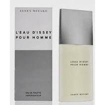 Perfume Leau Dissey Pour Homme Eau De Toilette 125 Ml