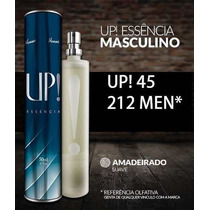 Perfume Importado Up!45- Fragrância 212 Men Masculino+brinde