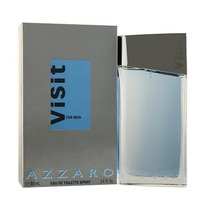 Perfume Azzaro Visit Masculino 100ml Eau De Toilette