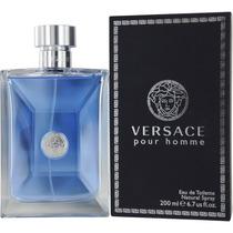 Perfume Versace Pour Homme Edt 200ml Original Lacrado