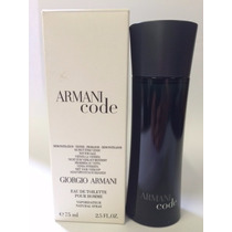 Perfume Armani Code Pour Homme 75ml - Tester 100% Original