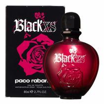 Perfume Black Xs Feminino Paco Rabanne 80ml Original Lacrado