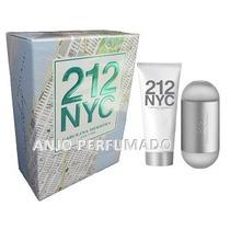 Perfume Feminino 212 Nyc 100ml + Hidratante Corporal 100ml