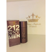 Perfume 212 Sexy Men 100 Ml - Original E Lacrado -