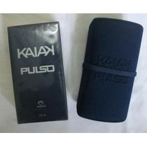 Kit Colônia Kaiak Pulso + Porta Perfume De 130,00 Por 85.00