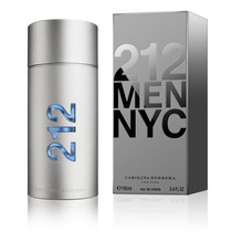 Carolina Herrera 212 Men Nyc Deo Spray Masculino - 100ml...
