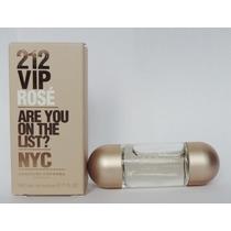 Perfume Miniatura 212 Vip Rose Carolina Herrera 5 Ml/sexy