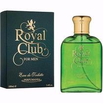 Perfume Royal Club ( Polo ) Masc Edt 100ml - Leilão