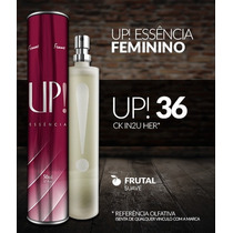Perfume Importado Feminino Up! Essência Ck In2u Her 50ml