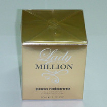 Perfume Feminino Lady Million 80ml 100% Made In France