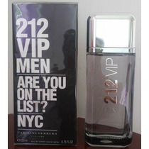 Perfume 212 Vip Men Carolina Herrera 200 Ml Original