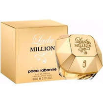 Perfume Lady Million 80ml - 100% Original Lacrado