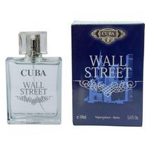 Perfume Cuba Wall Street Masculino 100ml Original E Lacrado