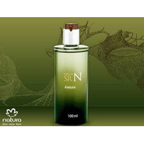 Perfume Sr N Âmbar Desodorante Colônia 100ml Natura