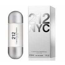 Perfume 212 Feminino 30ml Edt Carolina Herrera 100% Original