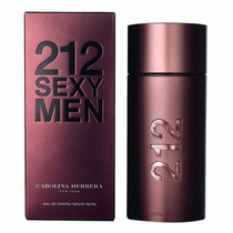 Perfume 212 Sexy Men 100ml Carolina Herrera 100% Original