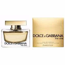Perfume The One Dolce & Gabbana Feminino 75ml Edp - Original