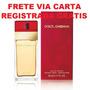 Dolce Gabbana Vermelho Decant Amostra 2,5ml Frete Grátis