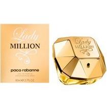 Perfume Paco Rabanne Lady Million Fem Edp 80ml Frete Grátis