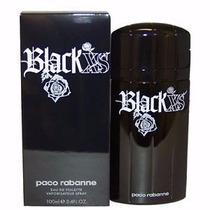 Perfume Paco Rabanne Black Xs Edt 100ml-lacrado E Original
