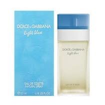 Perfume D&g - Light Blue - Edt 100 Ml - 100%original Lacrado