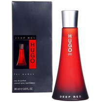 Perfume Hugo Boss Deep Red Feminino 90ml Original Lacrado
