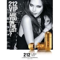 Perfume Feminino Carolina Herrera - 212 Vip (100ml) Original