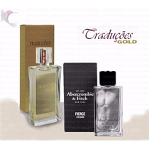 Perfumes Hinode Traduções Gold Nº17 Abercrombie Fierce 100ml