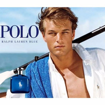 Perfume Polo Ralph Lauren Blue Azul 125ml Edt Lacrado Men