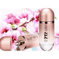 Perfume Original Lacrado 80ml Feminino 212 Vip Rosé Edp
