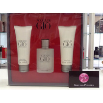 Kit Perfume Acqua Do Gio Edt 50ml Giorgio Armani
