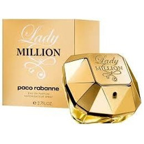 Lady Million Feminino Eau De Parfum By Paco Rabanne - 80ml