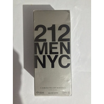 212 Men Nyc Carolina Herrera Masculino 100 Ml Original E.u.a