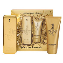 Kit One Million Perfume 100 Ml + Gel Banho 100 Ml - Original