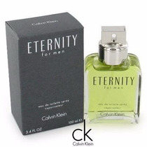 Perfume Eternity For Men 100 Ml Calvin Klein Edt Masculino