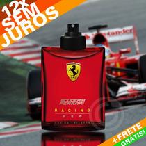 Perfume Ferrari Red Racing Tester Masculino Scuderia - 125ml