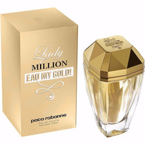 Perfume Lady Million Eau My Gold! Paco Rabanne Feminino 80ml