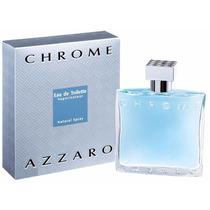 Perfume Masculino Azzaro Chrome 100ml Original Lacrado