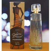 Perfume Luiza Brunet Poderosa Avon 100ml Fretegrátis+brinde
