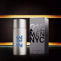 Perfume 212 Nyc Masculino Carolina Herrera 100ml *original*